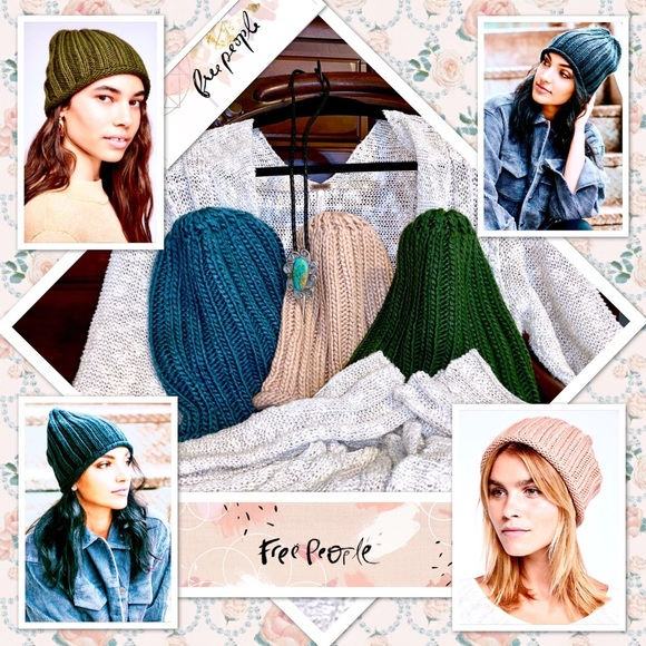 906892070b0c21 Free People Accessories | Rory Ribbed Beanies | Poshmark
